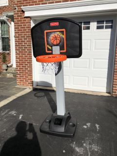 Fisher Price Extendable Basketball Hoop
