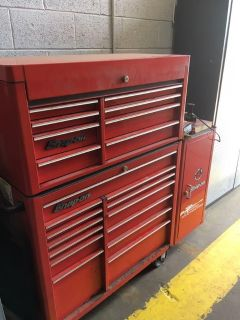 Snap On tool box with side locker