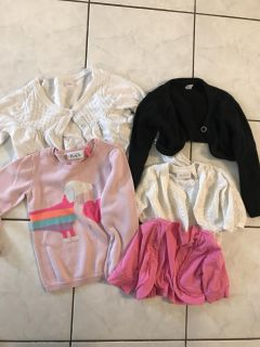 Girls Sweaters - Size 5-6 - Thicskson & Rossland, Whitby