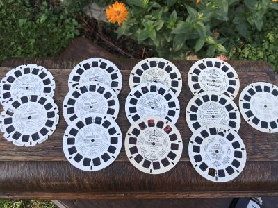 View Master Reels Lot