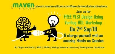 Register now for FREE hands-on session on VLSI Design using Verilog HDL