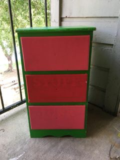 Smaller Colorful Chest of Drawers