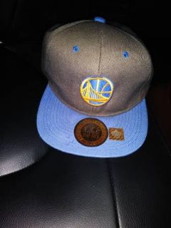 Golden State Warrior Cap The Supreme Cap Snap Back