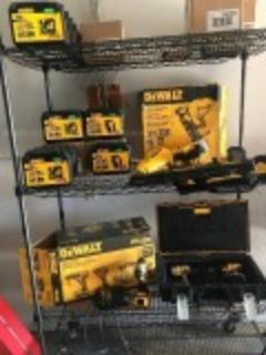 Miscellaneous Tool lot - Milwaukee Dewalt and more