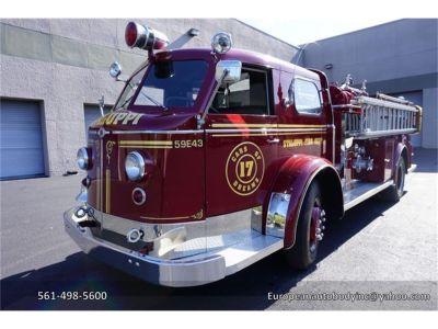 1953 American LaFrance Fire Engine