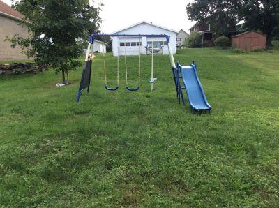 Child's swing set