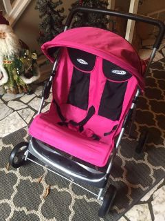 $6 TOY Graco Double stroller for DOLLS! No tear or Stains on Fabric. Please see below