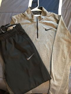 Nike Pull over and Pants