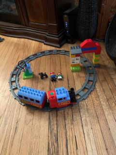 LEGO duplo motorized train set