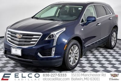 2017 Cadillac XT5 (Dark Adriatic Blue Metallic)
