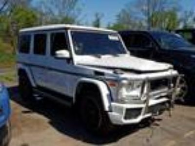 Salvage 2018 MERCEDES-BENZ G 63 AMG for Sale