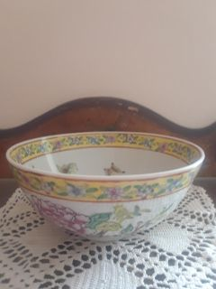 Vintage Asian inspired Small Deep Bowl