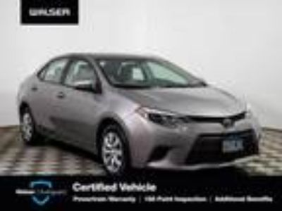 used 2016 Toyota Corolla for sale.