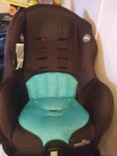 infant/toddler car seat.