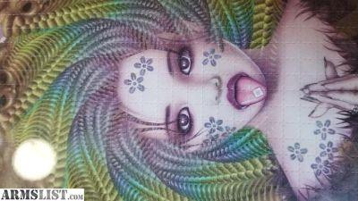 For Sale/Trade: Trevor Brown LSD Blotter Paper Art Print