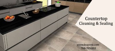 Granite Countertop - Kitchen countertop  Cleaning and Sealing  Service