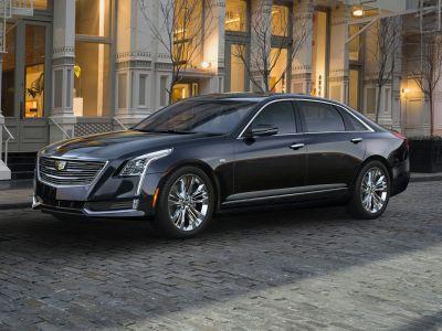 2016 Cadillac CT6 3.6L Premium Luxury (Dark Adriatic Blue Metallic)