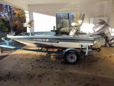 1990 Chion Bass Boat Excellent