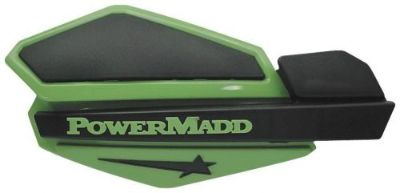 Buy PowerMadd ATV/Motorcycle/Snowmobile Green/Black Star Series Handguards 34203 motorcycle in Hinckley, Ohio, United States, for US $37.95