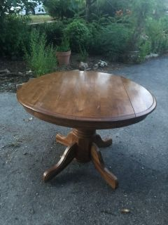 Darling folding wood dining table