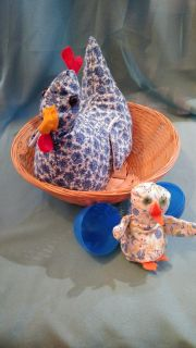 Hen and chick set