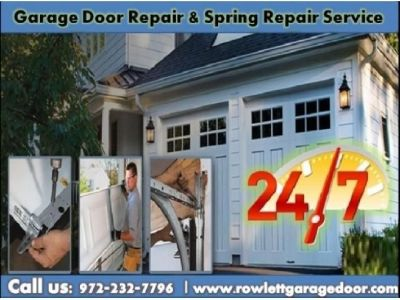 #1 Garage Door Spring Repair ($25.95) Rowlett Dallas, 75087 TX