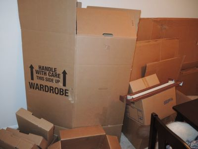 Boxes to move