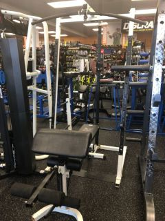 Body Vision Squat Rack & Bench