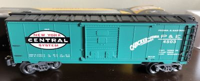 K-Line Trains NYC O Gauge Boxcar K-90017