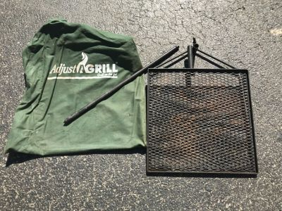 Grill campfire cooking grate