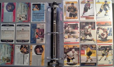 NHL - hockey card collection from late 90s/early 2000s