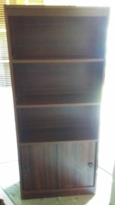 VINTAGE BOOKCASE / BOOK SHELF