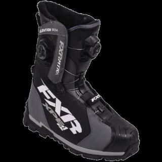 Find FXR ELEVATION LITE BOA FOCUS BOOT CHAR/BLACK SIZE:10/WOMENS:12 16501.20110 motorcycle in North Adams, Massachusetts, United States, for US $349.99