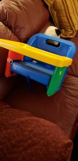 Childs booster table chair
