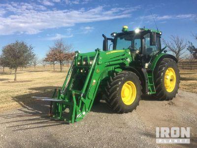 2015 John Deere 6145R 4WD Tractor