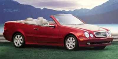 2003 Mercedes-Benz CLK-Class CLK320 (Silver)