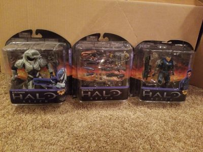 HALO REACH series 5- weapons pack, elite ranger and carter