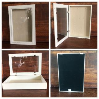 Display Case - Wood and Glass