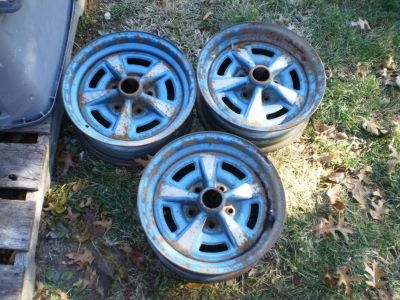 FIREBIRD TRANS AM GTO LEMANS TEMPEST RALLY 2 II WHEELS RIMS 15X6  $50 EACH WHEEL