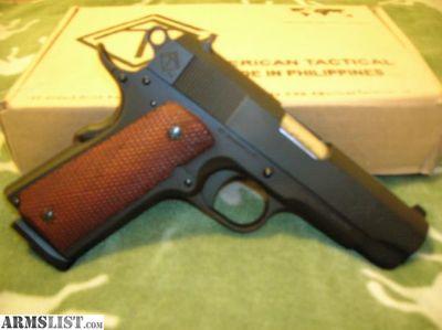 For Sale: ATI 1911 45ACP