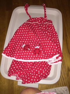 18 month lady bug outfit. GUC. $4. Pick up in Bon Air.