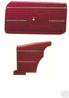 Find 1968 CAMARO DOOR PANEL KIT 68 FRONT & REARS motorcycle in Bryant, Alabama, US, for US $309.95