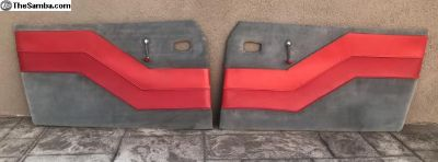 Karmann Ghia custom door panels