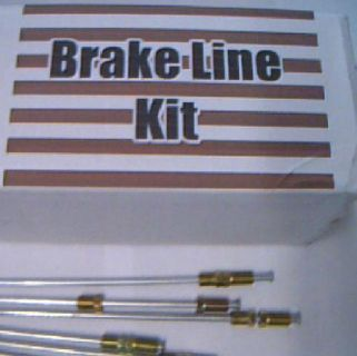 Find Metal Brake Lines for Ford or Mercury 1960 - 1985 1986 1987 1988 1989 1990 1991 motorcycle in Duluth, Minnesota, United States, for US $46.99