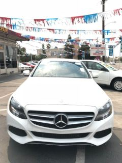 2015 Mercedes-Benz C-Class 4dr Sdn C 300 RWD (WHITE)