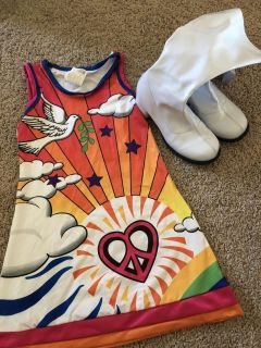 Groovy dress and go go boots