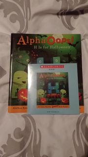 "*New* ""Alpha Oops"" book with audio CD"