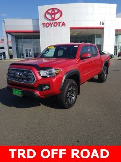 2016 Toyota Tacoma TRD Offroad (red)