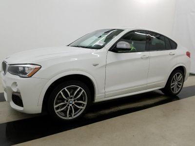 2018 BMW X4 M40i Sports Activity Coupe (Alpine White)