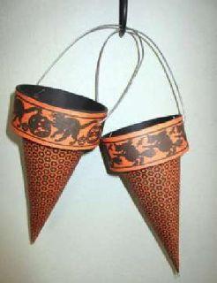Vintage Halloween Candy Holders